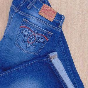 Lucky Brand Crop Denim Jeans size 8